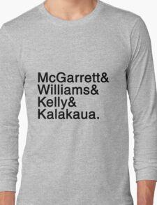 Five-0 Team Names Long Sleeve T-Shirt
