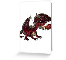 Dragon Greeting Card