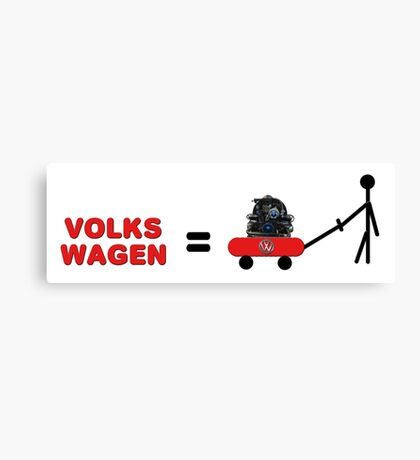 Volks Wagon  Canvas Print