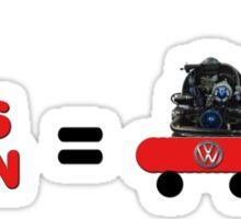 Volks Wagon  Sticker