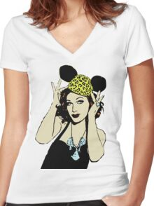 Jinkx Monsoon Women's Fitted V-Neck T-Shirt