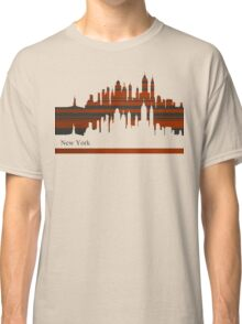 New York lines 3 Classic T-Shirt