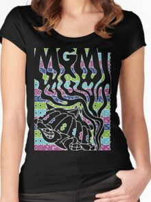MGMT Cat Women's Fitted Scoop T-Shirt