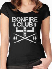 Bonfire Club Women's Fitted Scoop T-Shirt