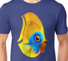 Tropical Fish on Clear Ocean Water 3D Unisex T-Shirt