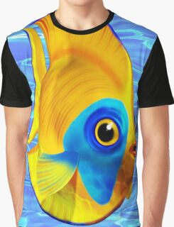 Tropical Fish on Clear Ocean Water 3D Graphic T-Shirt