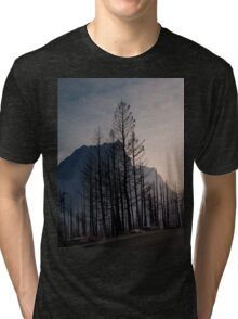 Glacier National Park after 2015 Wildfire .2 Tri-blend T-Shirt
