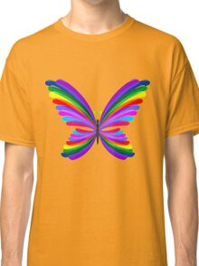 Butterfly Psychedelic Rainbow Classic T-Shirt