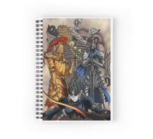Knight Champions Spiral Notebook
