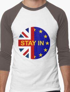 STAY IN! Men's Baseball ¾ T-Shirt