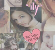 Briana Jungwirth Collage Sticker