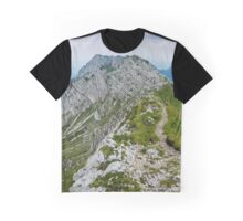 Mountain top panorama Graphic T-Shirt