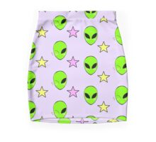 alien cutie Mini Skirt