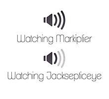 Markiplier and Jacksepticeye Volumes Photographic Print