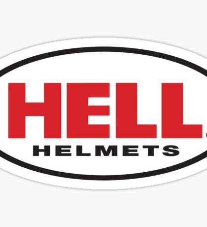 HELL HELMET Sticker