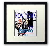 New York For Bernie Sanders Shirt Brooklyn Democrat President Hip Hop B-Boy NYC NY Funny Framed Print