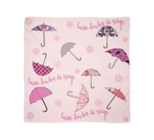 Laisse Tomber la Neige with Umbrellas Scarf