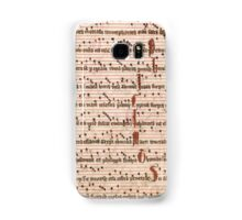 Medieval Sheet Music  Samsung Galaxy Case/Skin