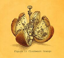 Steampunk Orange (colour option) by Eric Fan