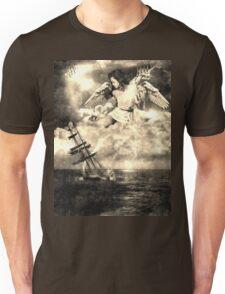 angel-girl-ship Unisex T-Shirt