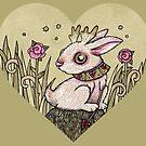 Valentine Jackalope by Anita Inverarity