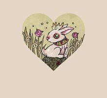 Valentine Jackalope Womens Fitted T-Shirt