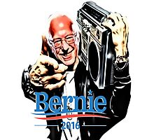 Bernie Sanders Shirt Brooklyn NYC NY Funny President Hip Hop B-Boy Democrat Photographic Print