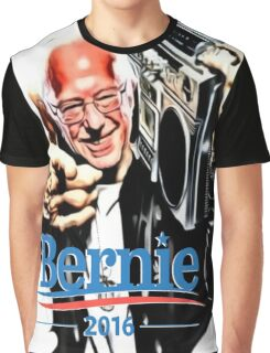 Bernie Sanders Shirt Brooklyn NYC NY Funny President Hip Hop B-Boy Democrat Graphic T-Shirt
