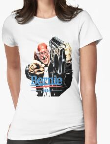 Bernie Sanders Shirt Brooklyn NYC NY Funny President Hip Hop B-Boy Democrat Womens Fitted T-Shirt