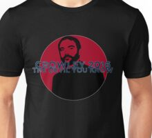 Crowley 2016 - The Devil You Know Unisex T-Shirt