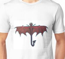 Dragon-Fly (Red & Purple) Unisex T-Shirt