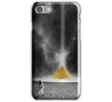 pyramid-astronauts-planet iPhone Case/Skin