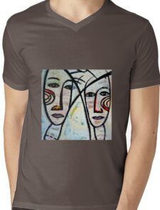 Lovers Mens V-Neck T-Shirt