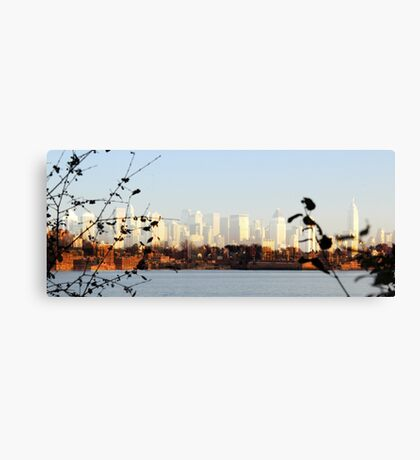 Urban Shores Canvas Print