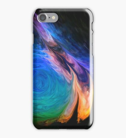 Abstract space surreal scifi  iPhone Case/Skin