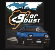 Nurburgring <9' Or Bust Kids Tee