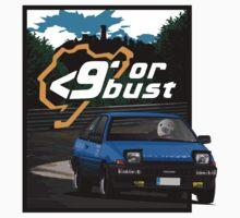 Nurburgring <9' Or Bust Baby Tee