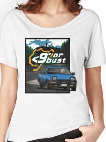 Nurburgring <9' Or Bust Women's Relaxed Fit T-Shirt