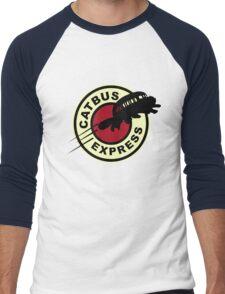 Nekobasu Express Men's Baseball ¾ T-Shirt