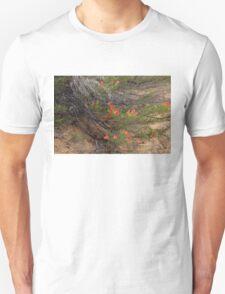 Red Wildflower Unisex T-Shirt