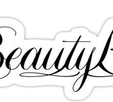 Beauty K. Sticker