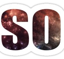 IT'S SO COOL - Markipler Space Quote Sticker