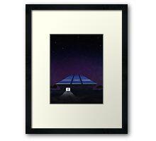 Horizons from EPCOT Center Framed Print