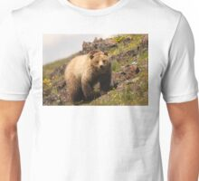 Grizzly & Wildflowers Unisex T-Shirt