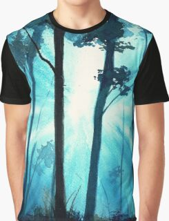 Forest sunrays Graphic T-Shirt