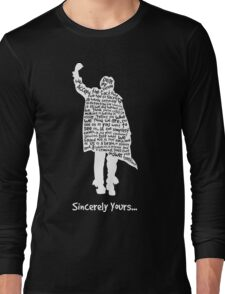 The Breakfast Club - Sincerely Yours - White Long Sleeve T-Shirt