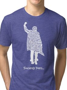 The Breakfast Club - Sincerely Yours - White Tri-blend T-Shirt
