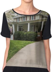 The Old South 2 Chiffon Top