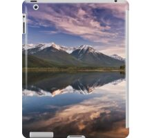Sunset At The Vermilion Lakes iPad Case/Skin