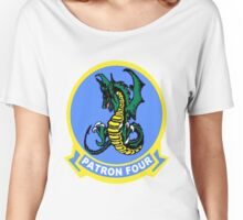 VP-4 Skinny Dragons Logo Women's Relaxed Fit T-Shirt